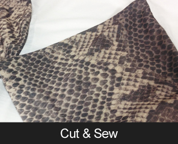 Cut and Sew for completely customised clothing