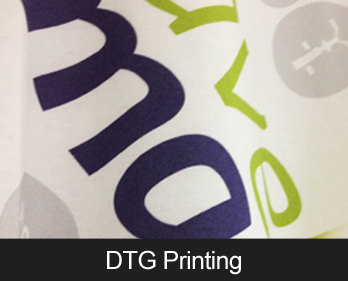 Direct To Garment (DTG) Printing - durable, high quality print for full colour, small volume custom clothing prints